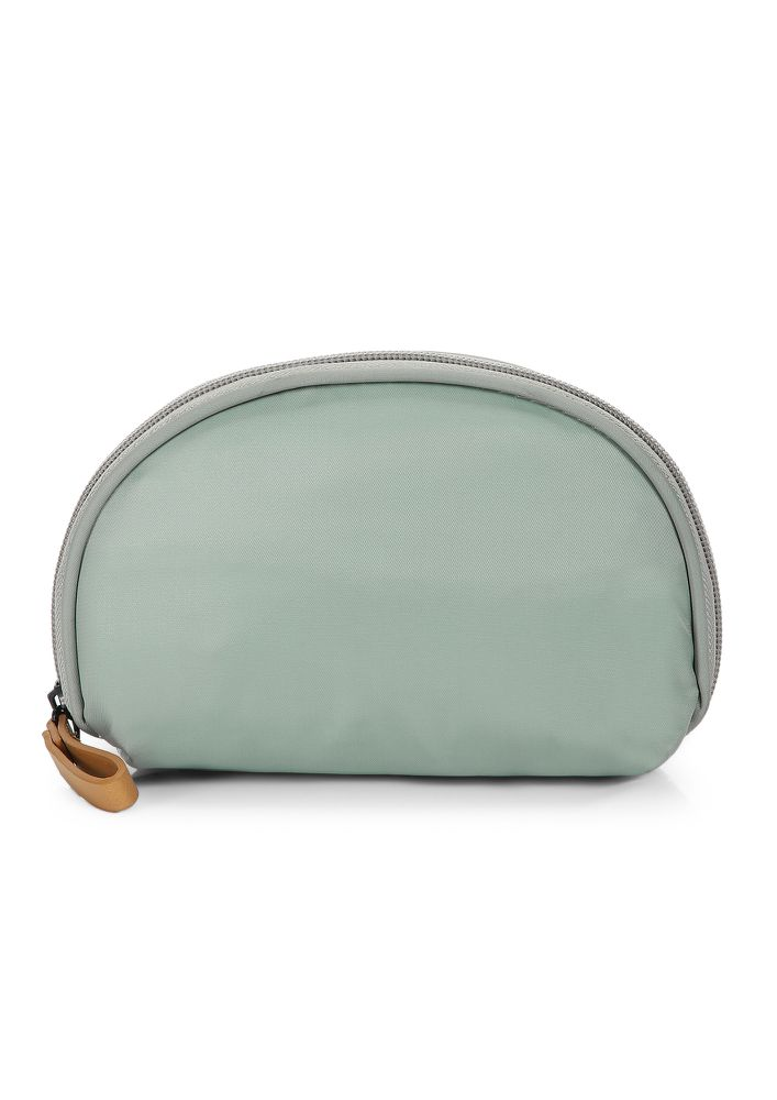 NO STRESS AT ALL GREY MAKE-UP POUCH