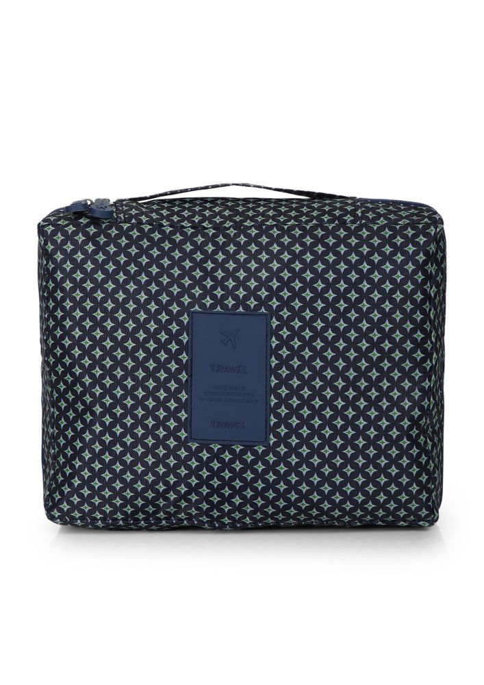 HOLD-ON BABE NAVY MAKE-UP POUCH