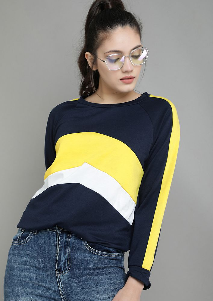 COLORS TO HOARD NAVY SWEATSHIRT