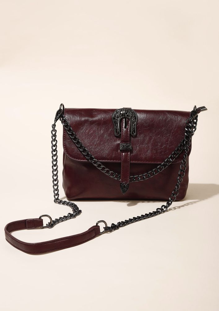 9-TO-9 BUSY BEES WINE SLING BAG