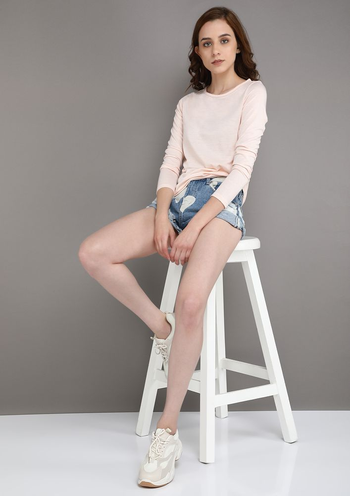 EASY GOING PINK TOP