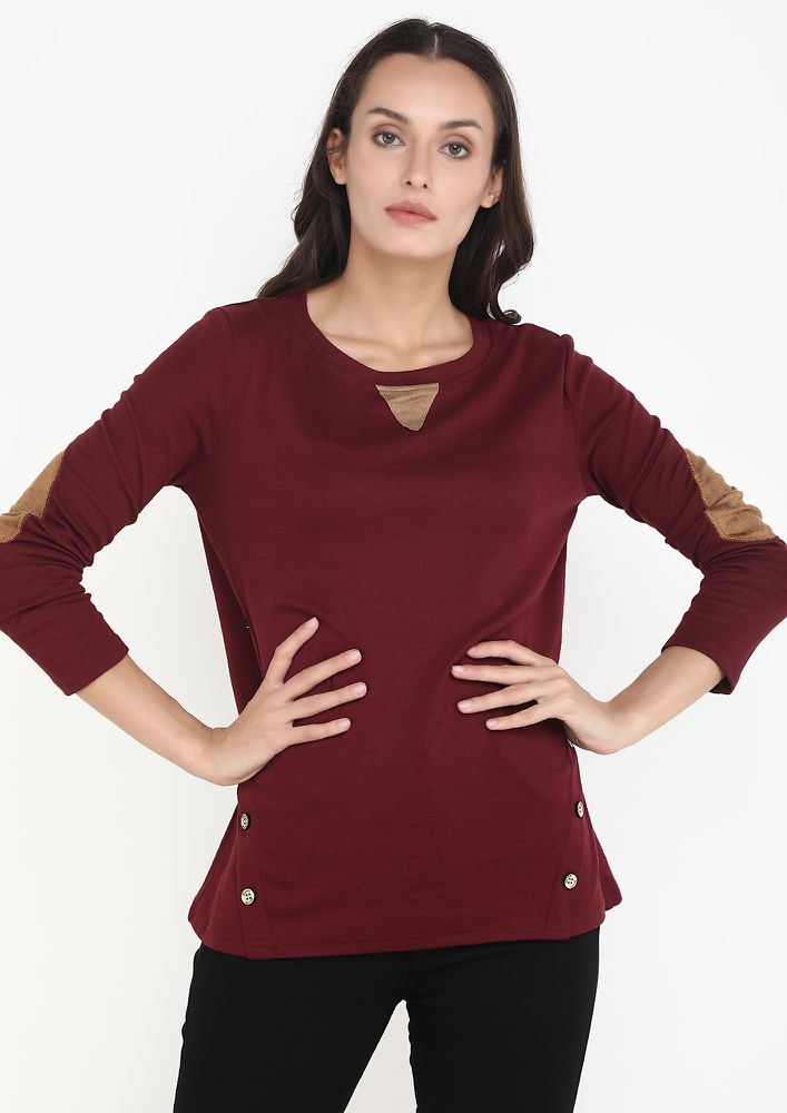 COMFORTABLY YOURS WINE TOP