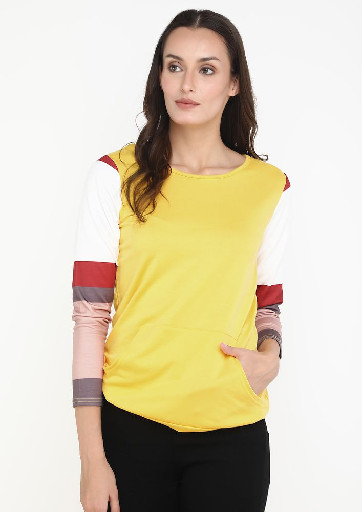 A BAR OF FRESHNESS YELLOW TOP