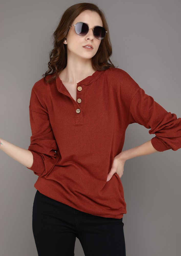 CLOSED TAILS BRICK RED TOP