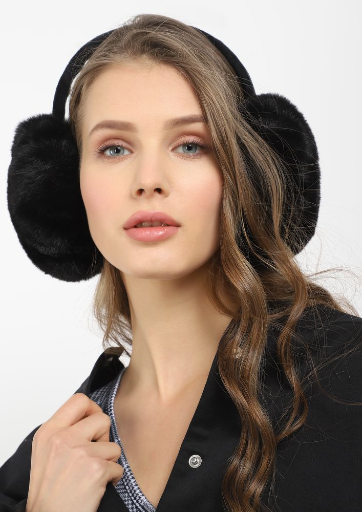 HOW ABOUT NOW BLACK EARMUFFS