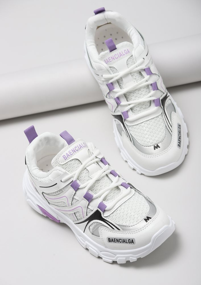 RUN FREE PURPLE SNEAKERS