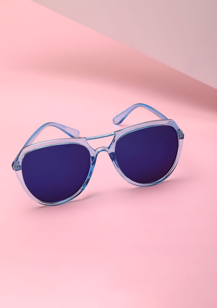 TURN IT UP BLUE WAYFARERS