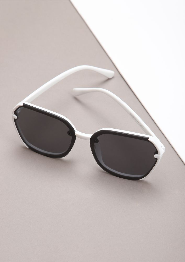 WE NEED TO TALK WHITE WAYFARERS