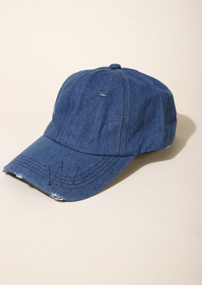 Denim Still Ruling Blue Cap