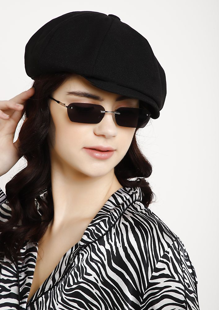 FRENCH LOOK BLACK BERET