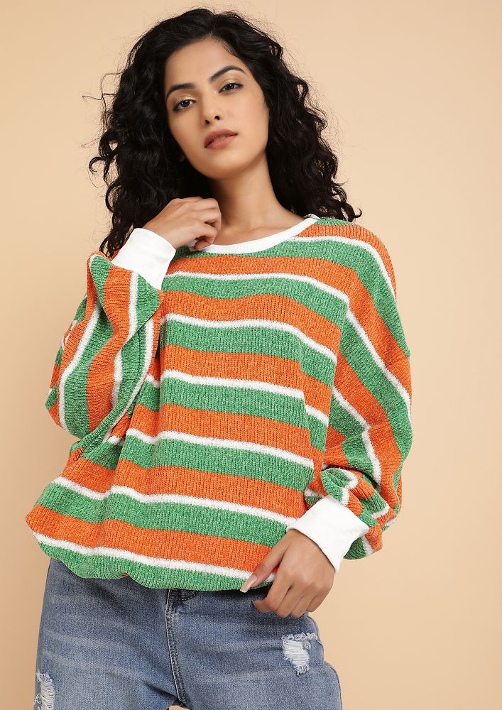 BLOCK AFTER BLOCKS MULTICOLOR JUMPER