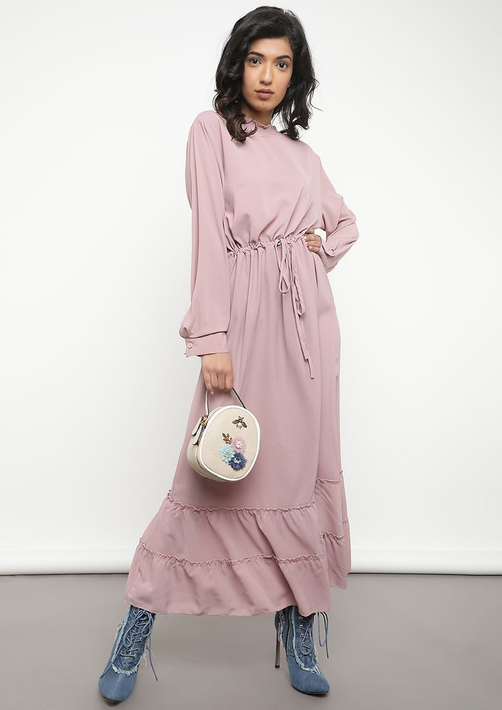 ALL SET FOR THE BALL LAVENDER MAXI DRESS