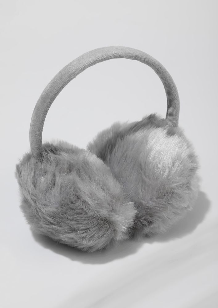 WINTERY MUST THING GREY EARMUFF