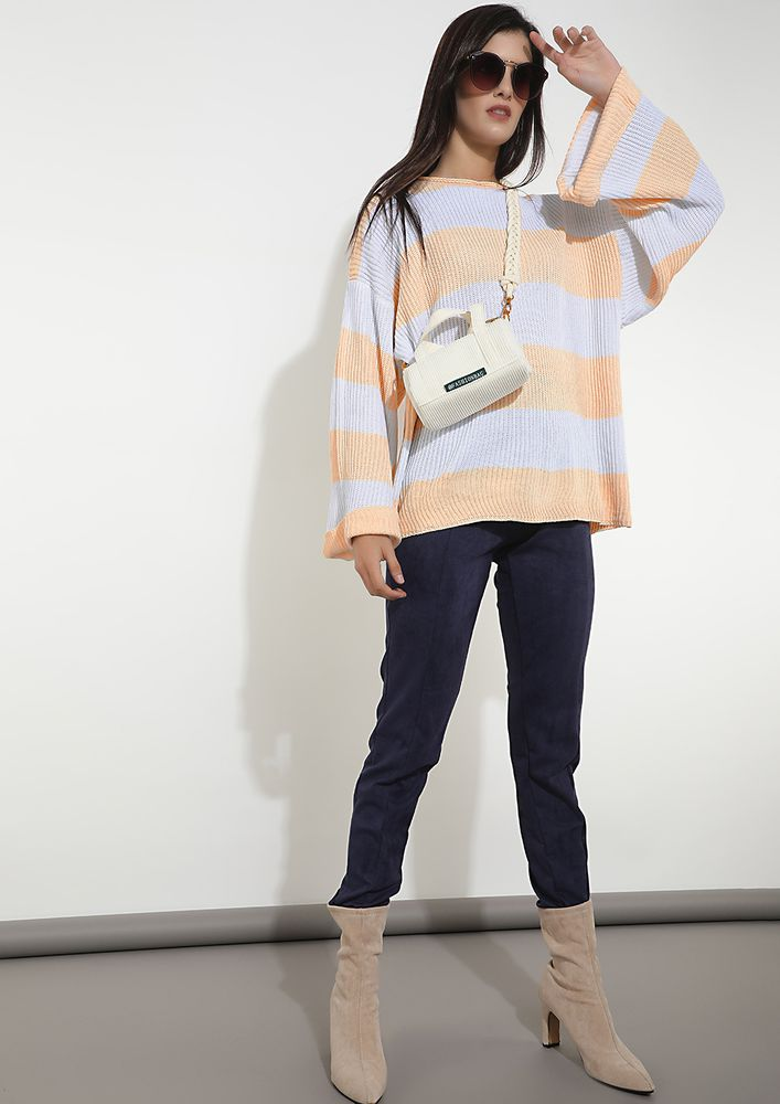COLD IN-BETWEEN MULTICOLOR JUMPER