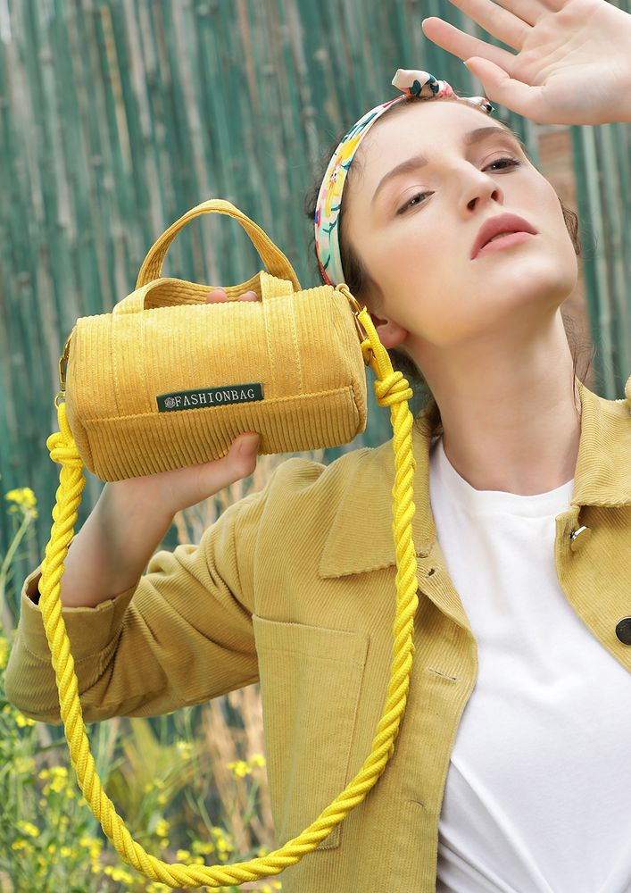 ROLL ABOUT THE YELLOW DUFFLE