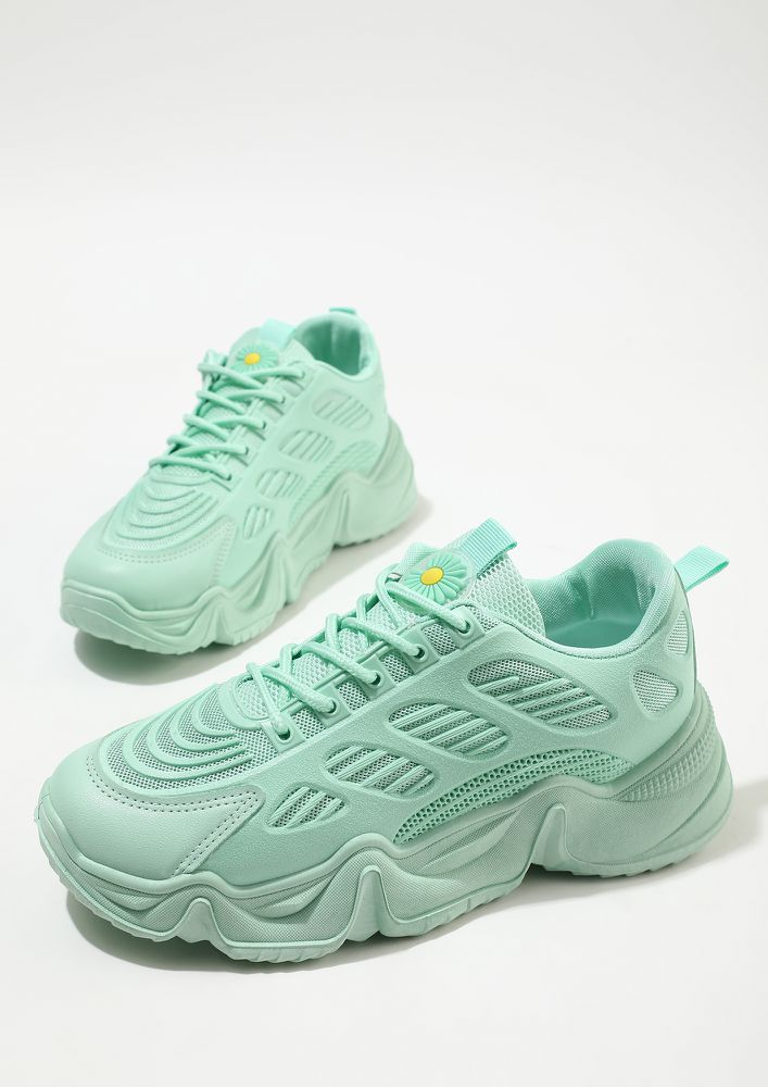 TO THE TOP GREEN TRAINERS