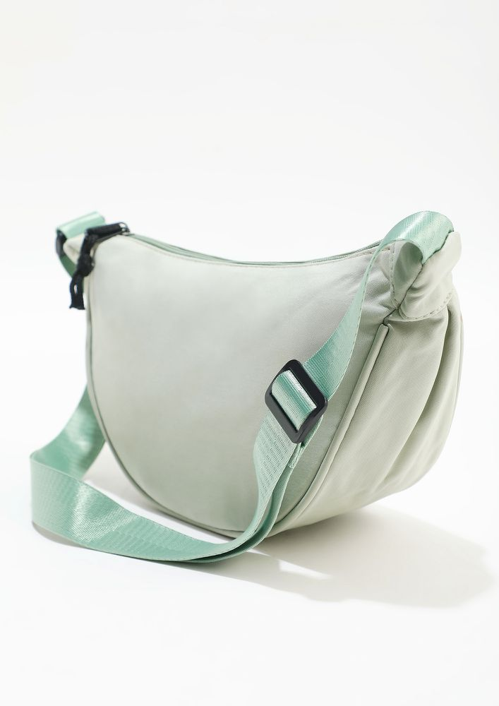 AT THE SIDE ESSENTIAL GREEN FANNY PACK