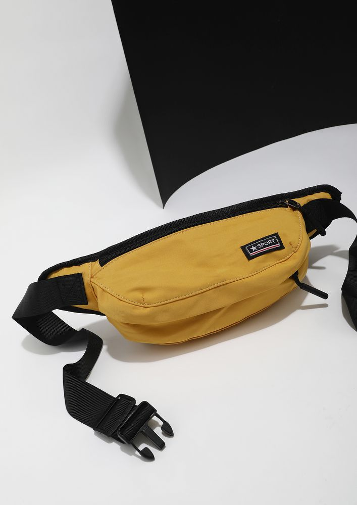 FULFILLING MY WISHES YELLOW FANNY PACK