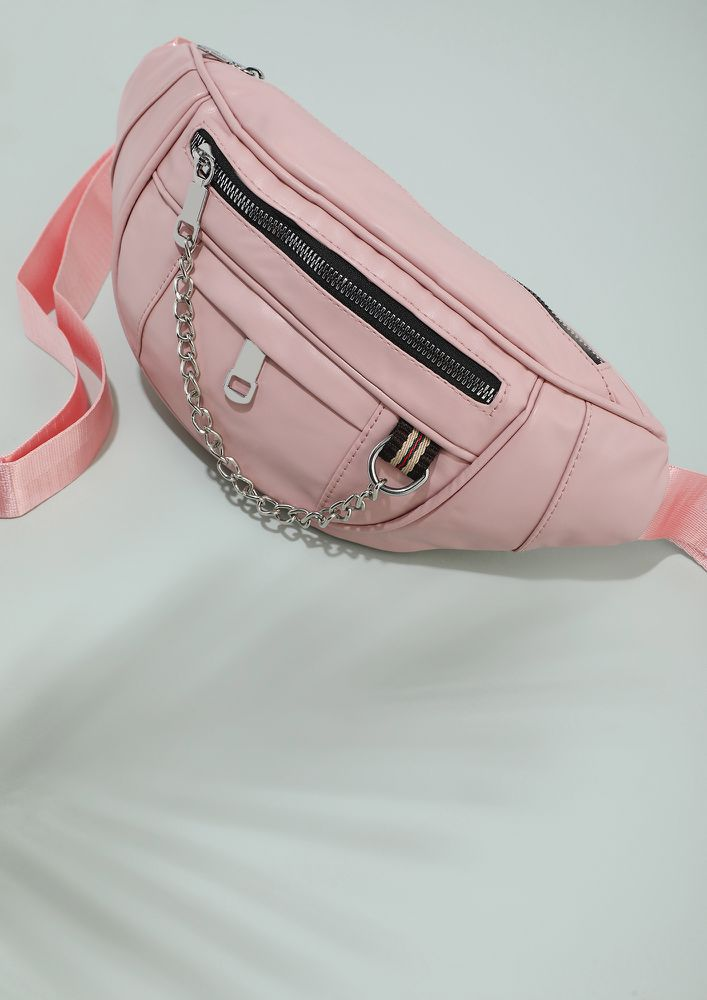 CLOSE TO PASTELS PINK FANNY PACK