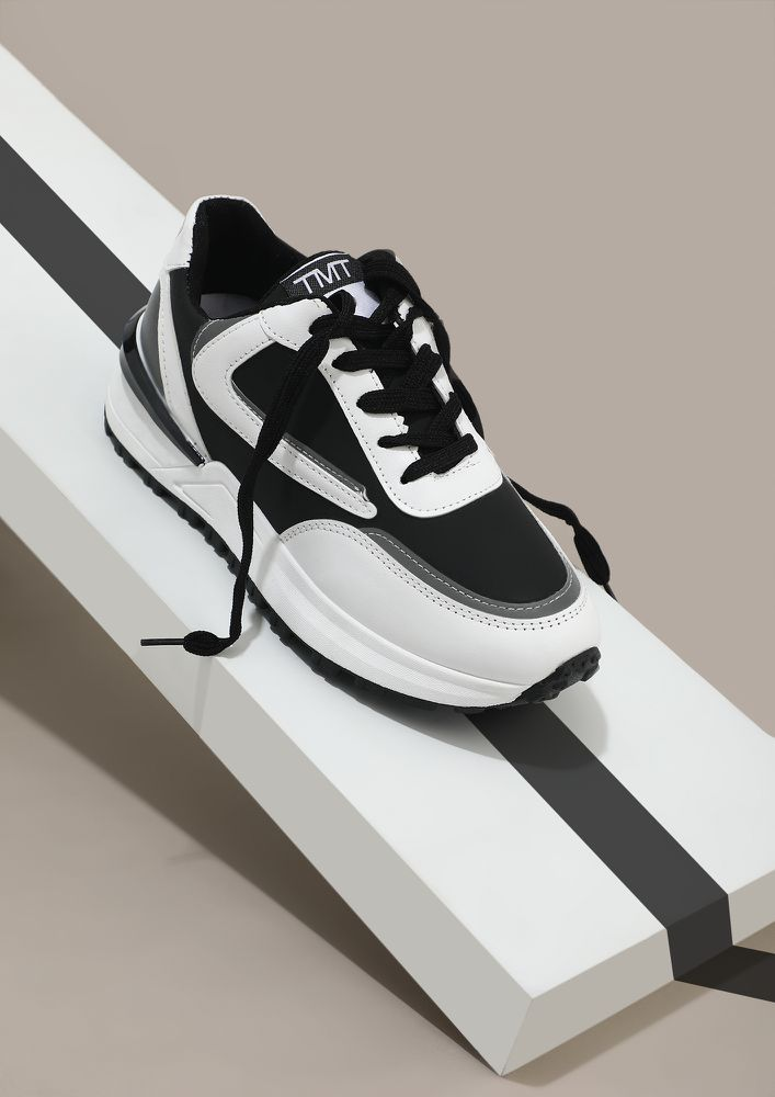 FOLLOWING MY OWN PATH WHITE TRAINERS