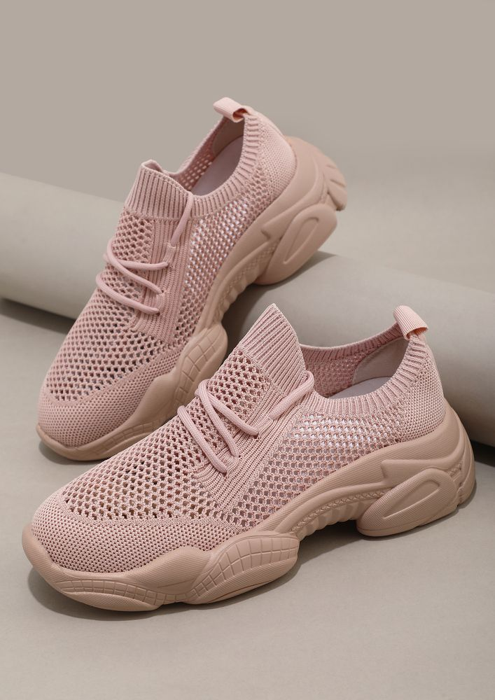 CHASE ME PINK CASUAL SHOES