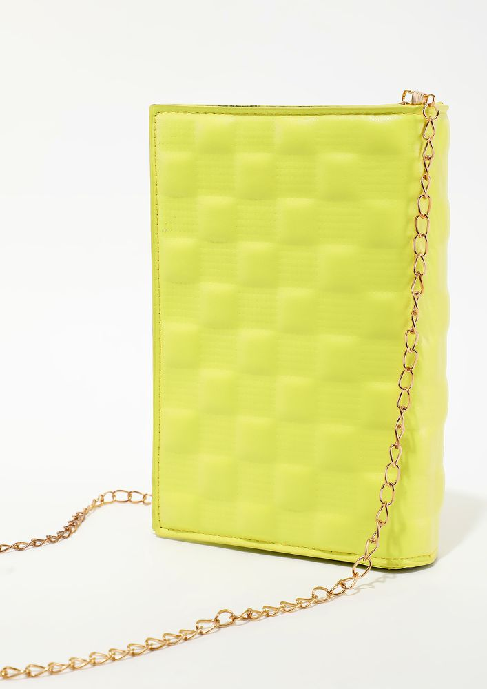 CALL ME BY YELLOW SLING BAG