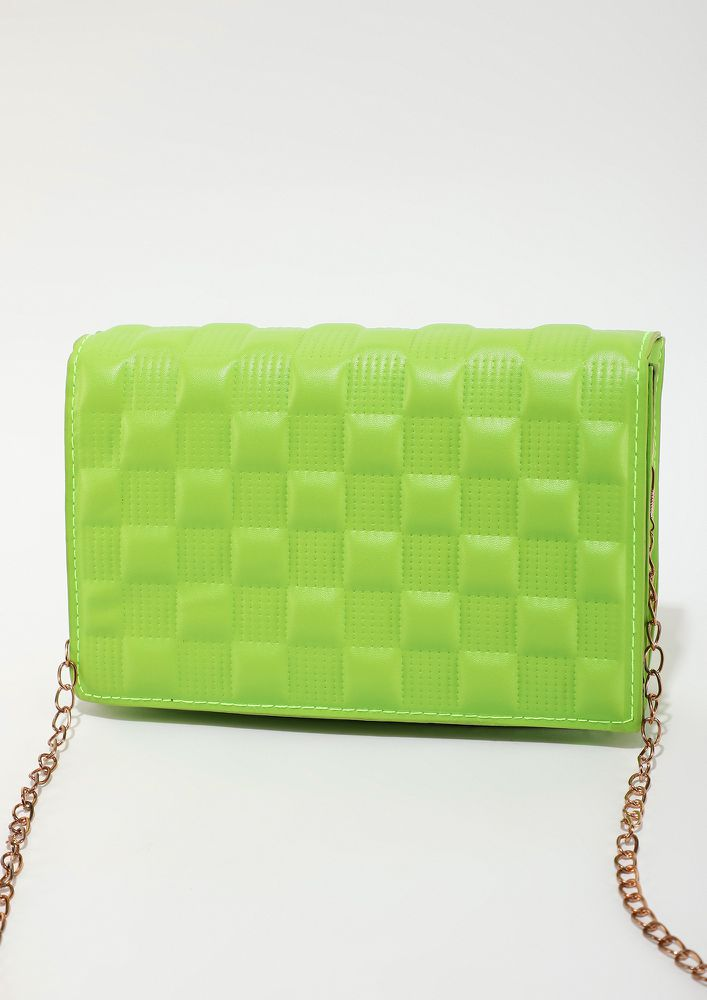 CALL ME BY GREEN SLING BAG