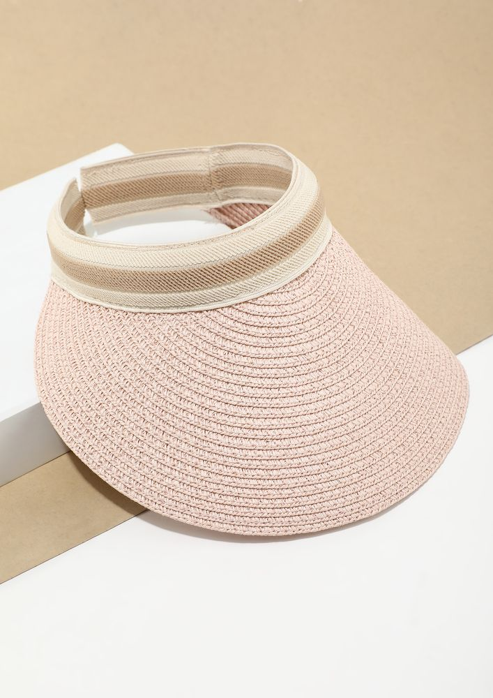 PLAY OUT PINK WIDE BRIM CAP