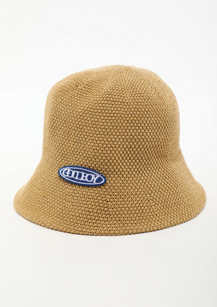 STEP OUT IN YELLOW BUCKET HAT