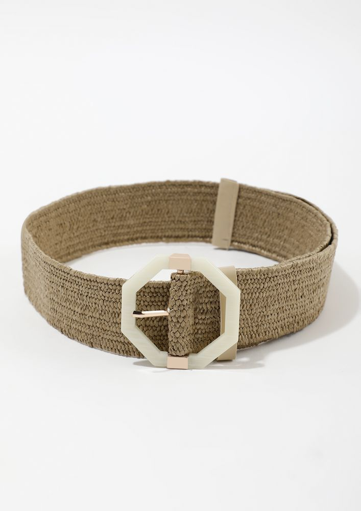 STAND OUT TAN BELT