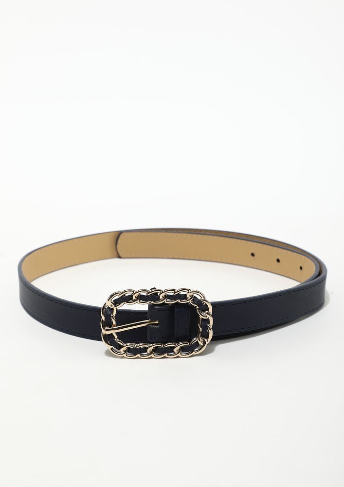 WEAR ME ON THE OOMPH DAYS NAVY BELT