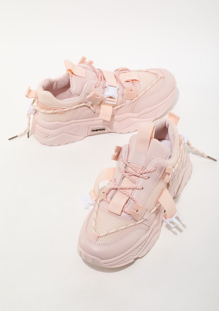 KICK IN TREND PINK TRAINERS