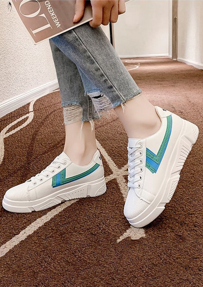 FOR THE FASTEST GREEN TRAINERS