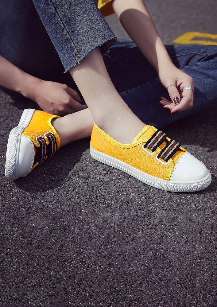 IN THE GAME YELLOW TRAINERS