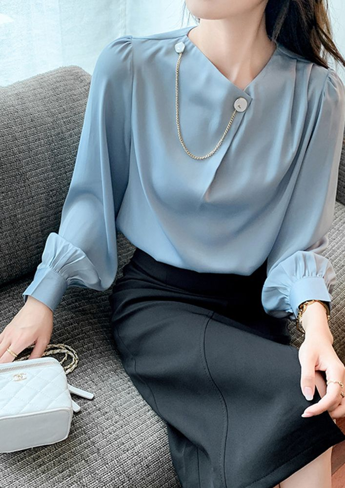 YOUR ADMIRER BLUE TOP