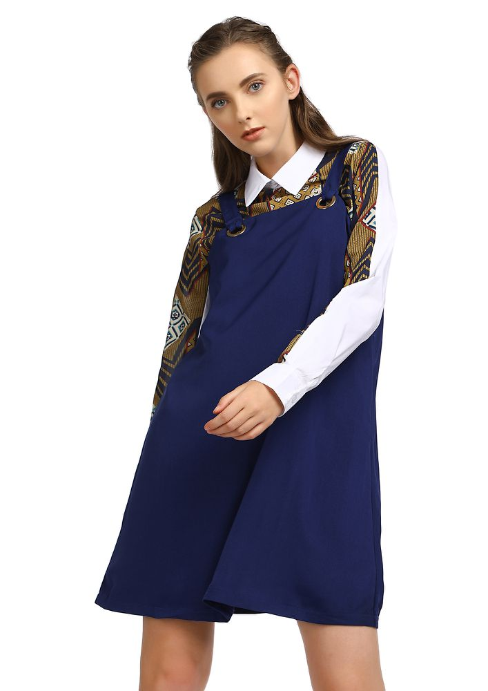 OH YOU DARLING BLUE SHIFT DRESS