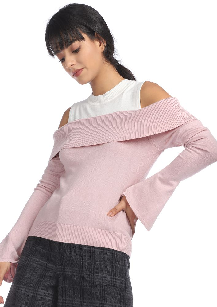 HUG ME TIGHTER MAUVE JUMPER