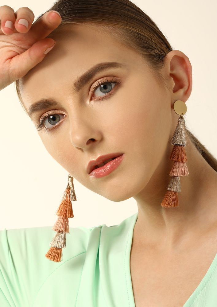 GOSS BABE TALKING BOUT OLD-TIMES PASTEL MULTICOLOR EARRINGS