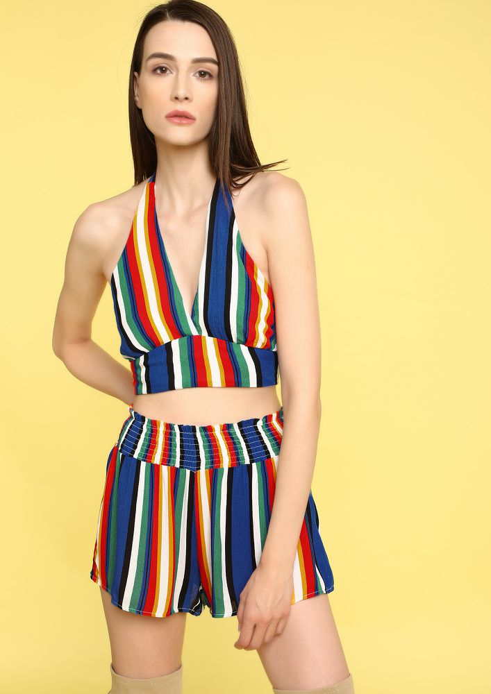 LOVE FOR RAINBOWS MULTICOLOR TWO PIECE SET