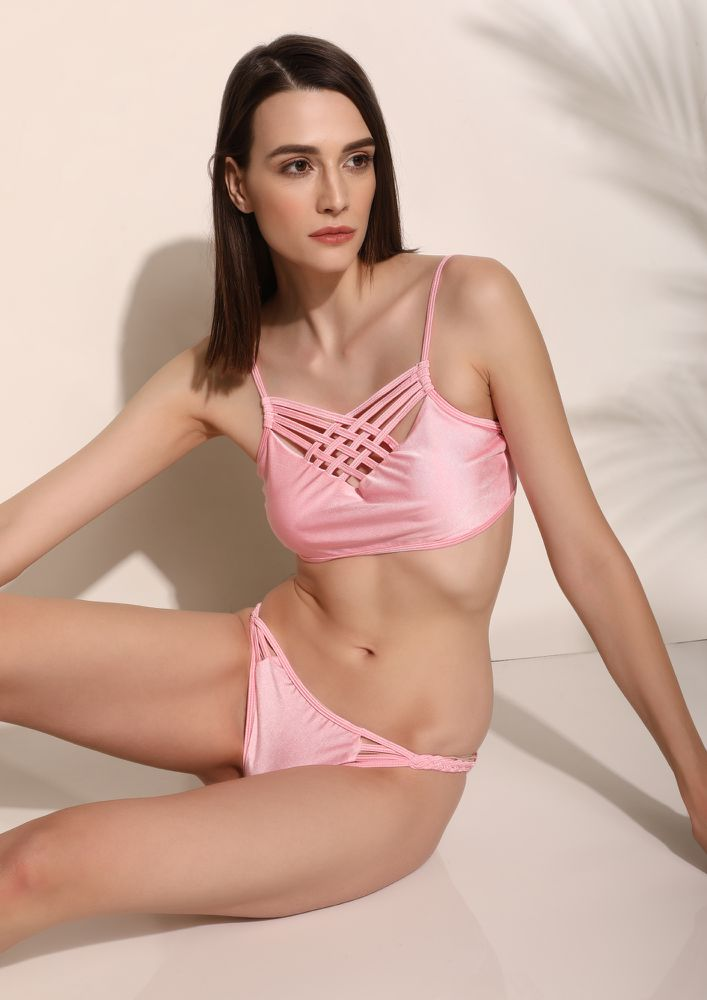 TAKE ME TO SHORE LINE PINK BIKINI
