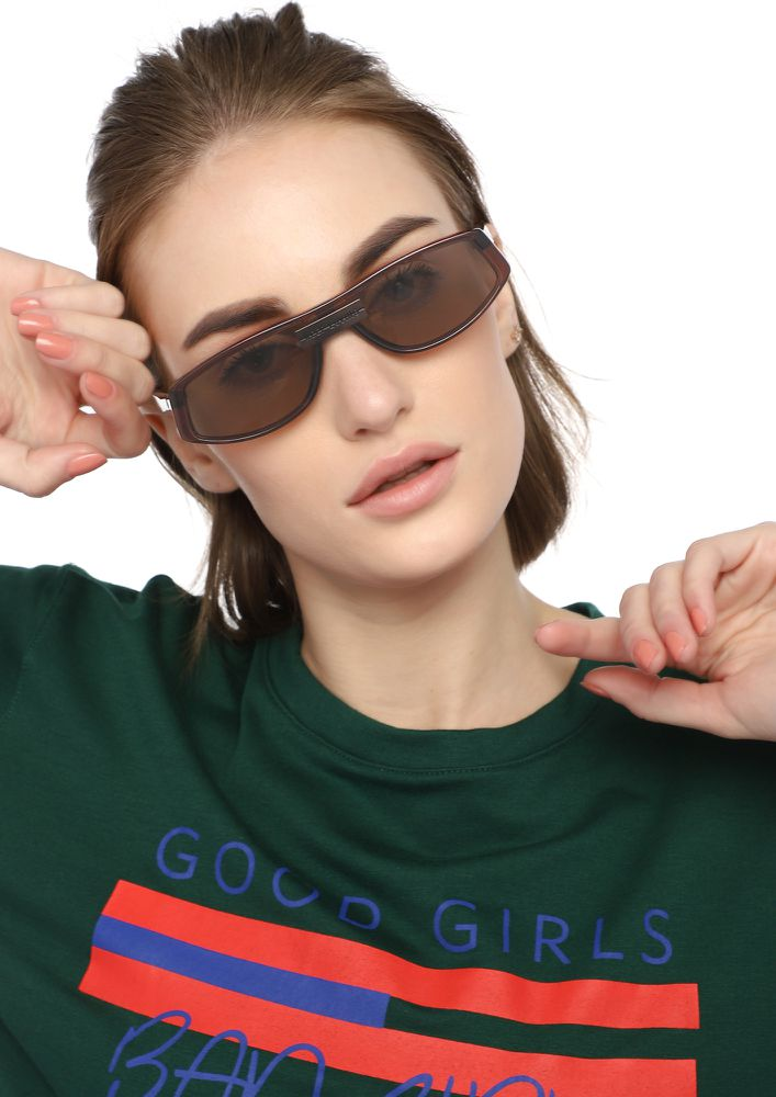 SETTING TRENDS BROWN SUNGLASSES