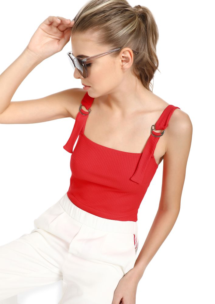 OLD-FASHIONED CHARM CHERRY RED BODYSUIT
