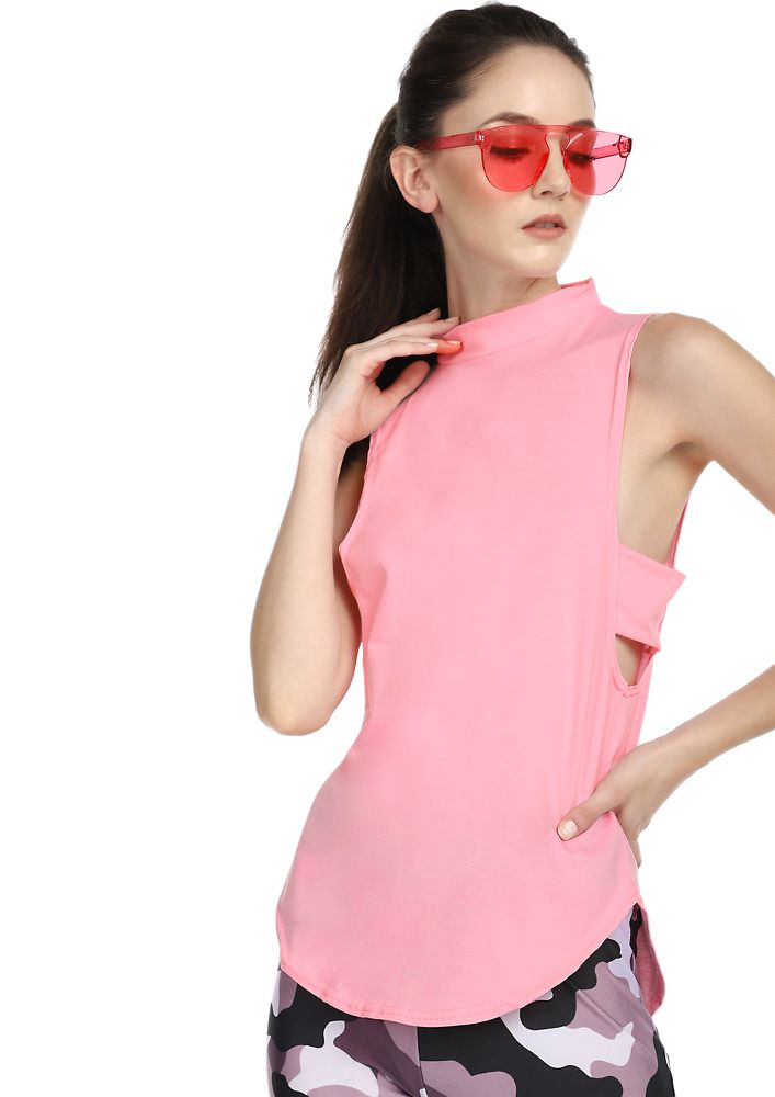 LET'S SLAY NOW PINK BLOUSE