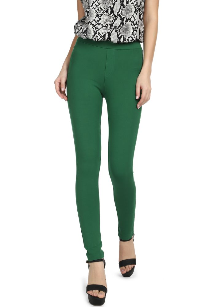 SMALL TALK GREEN LEGGINGS