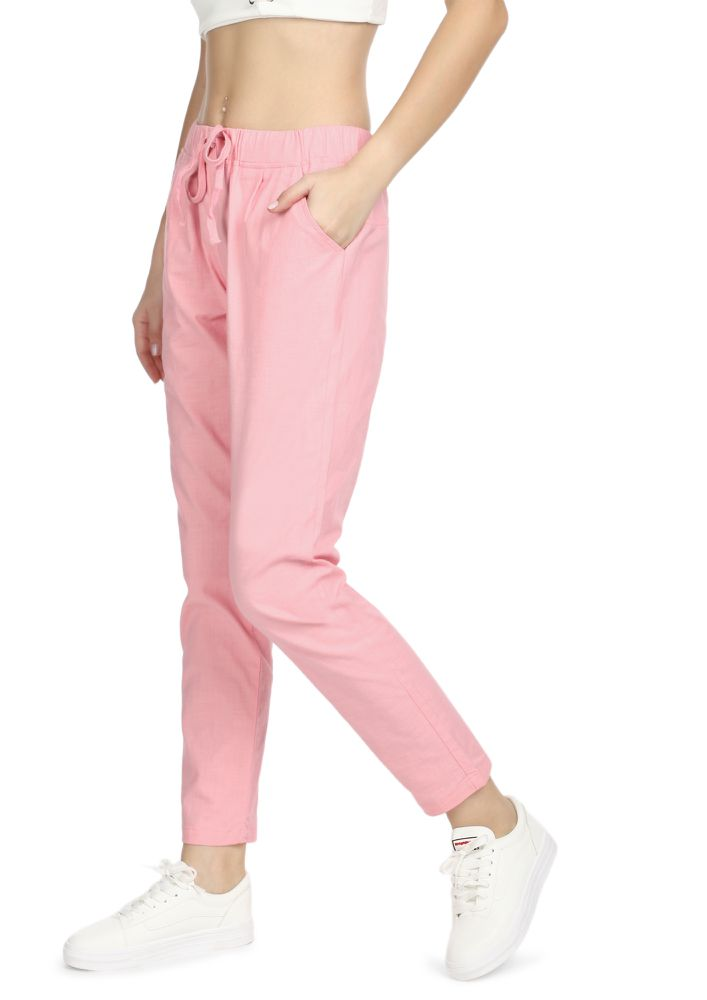 TAKE A CHILL PILL PINK TROUSERS