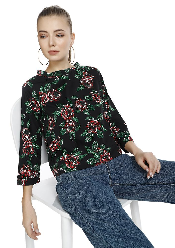 BOTANICAL BRIGADE MULTICOLOR TOP