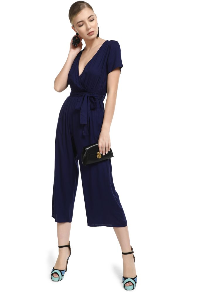 PERFECTLY ALRIGHT NAVY JUMPSUIT