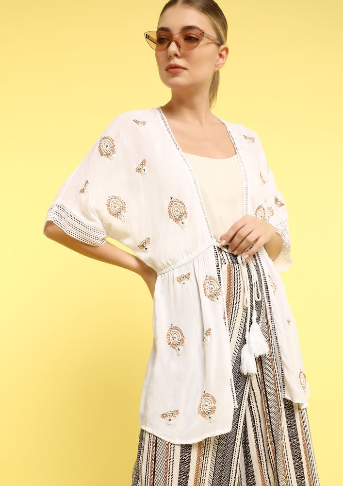 LEY'S BE HAPPY TOGETHER IVORY COVER UP