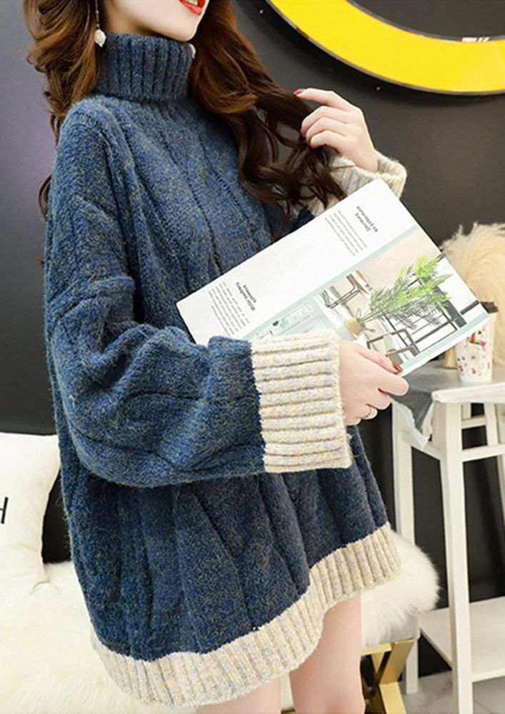HOP ON TO THE POP SHADES BLUE CARDIGAN