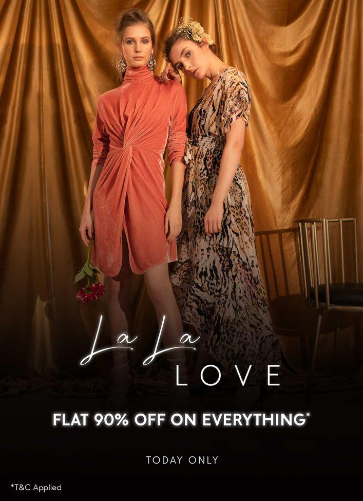 FLAT 90% OFF ON EVERYTHING